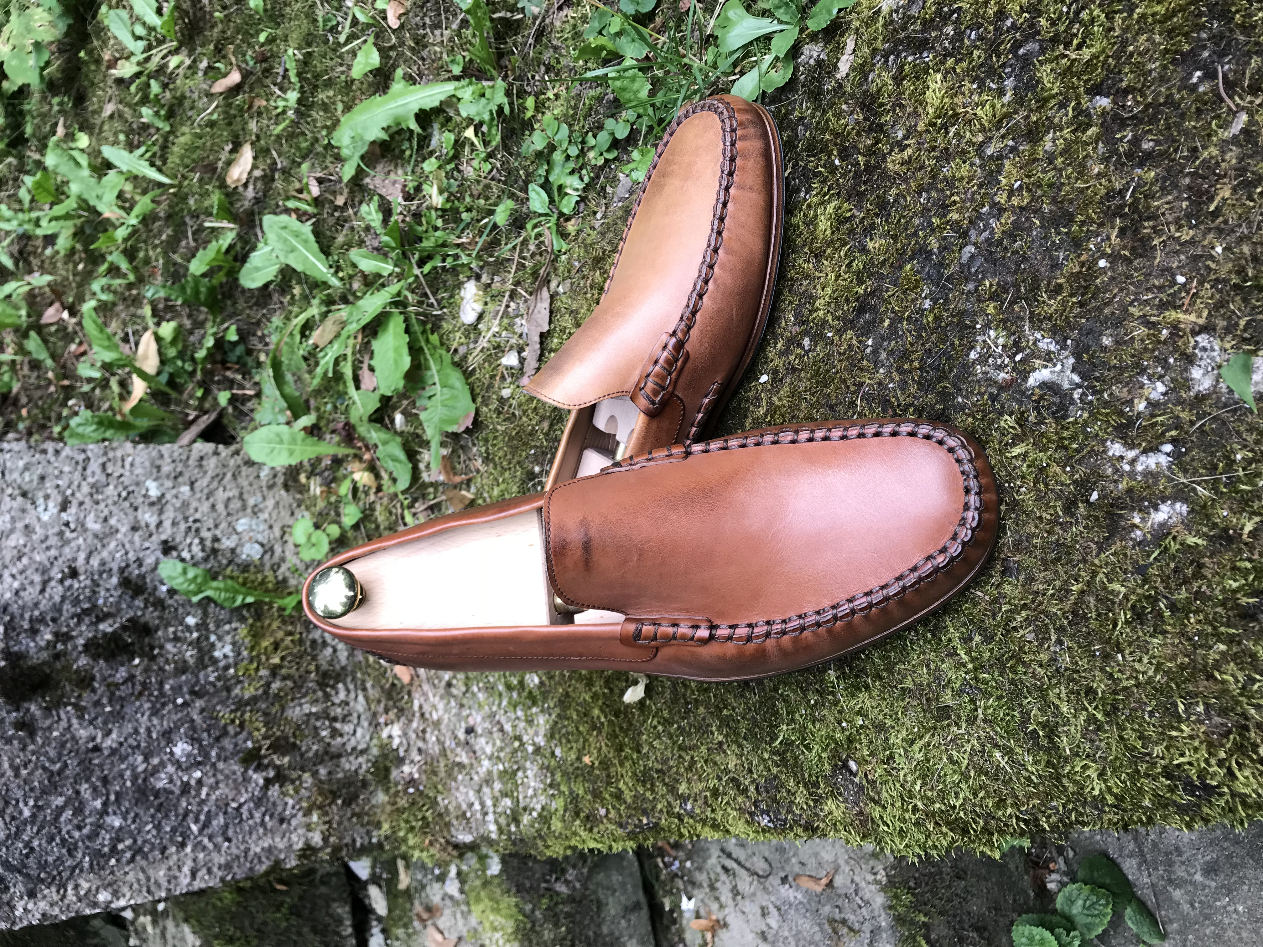 Leather-Shoes-Loafer-Tan-Gal8
