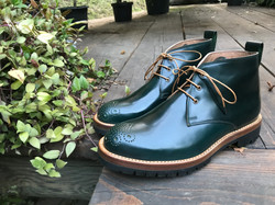 Leather-Boots-Chukka-Shell-Green2-Gal1