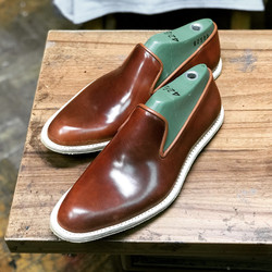 Leather-Shoes-Slippers-Shell-Brown-Gal10