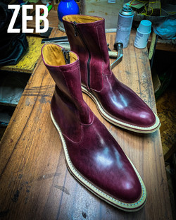 Leather-Boots-Zip-Horsehide-Burgundy-Gal7