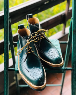 Leather-Boots-Chukka-Shell-Green-Gal