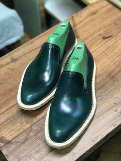 Leather-Shoes-Slippers-Shell-Green-Gal7