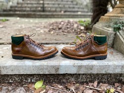 Horween shell cordovan hiking boots 2