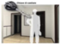 serratura omega plus con chiave di cantiere