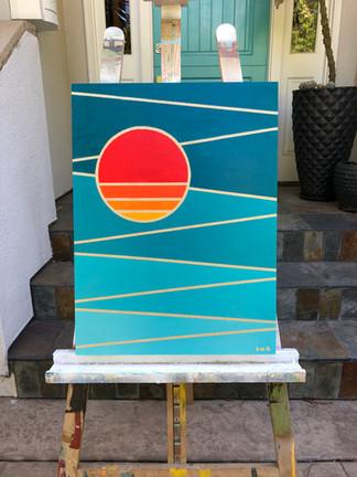 SUN'S REFLECTION 2