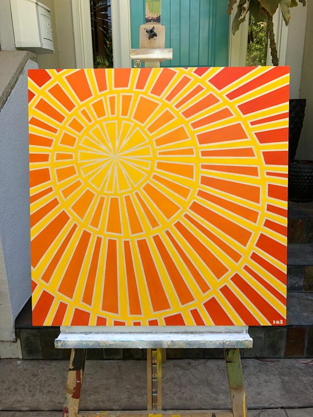 MID CENTURY SUN