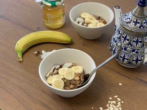 Porridge vegano e speziato