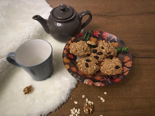 Biscotti all'avena senza glutine