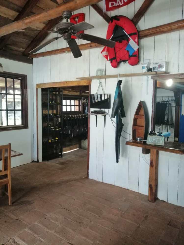 diving coiba shop