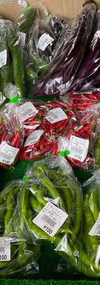 和良で採れた新鮮野菜