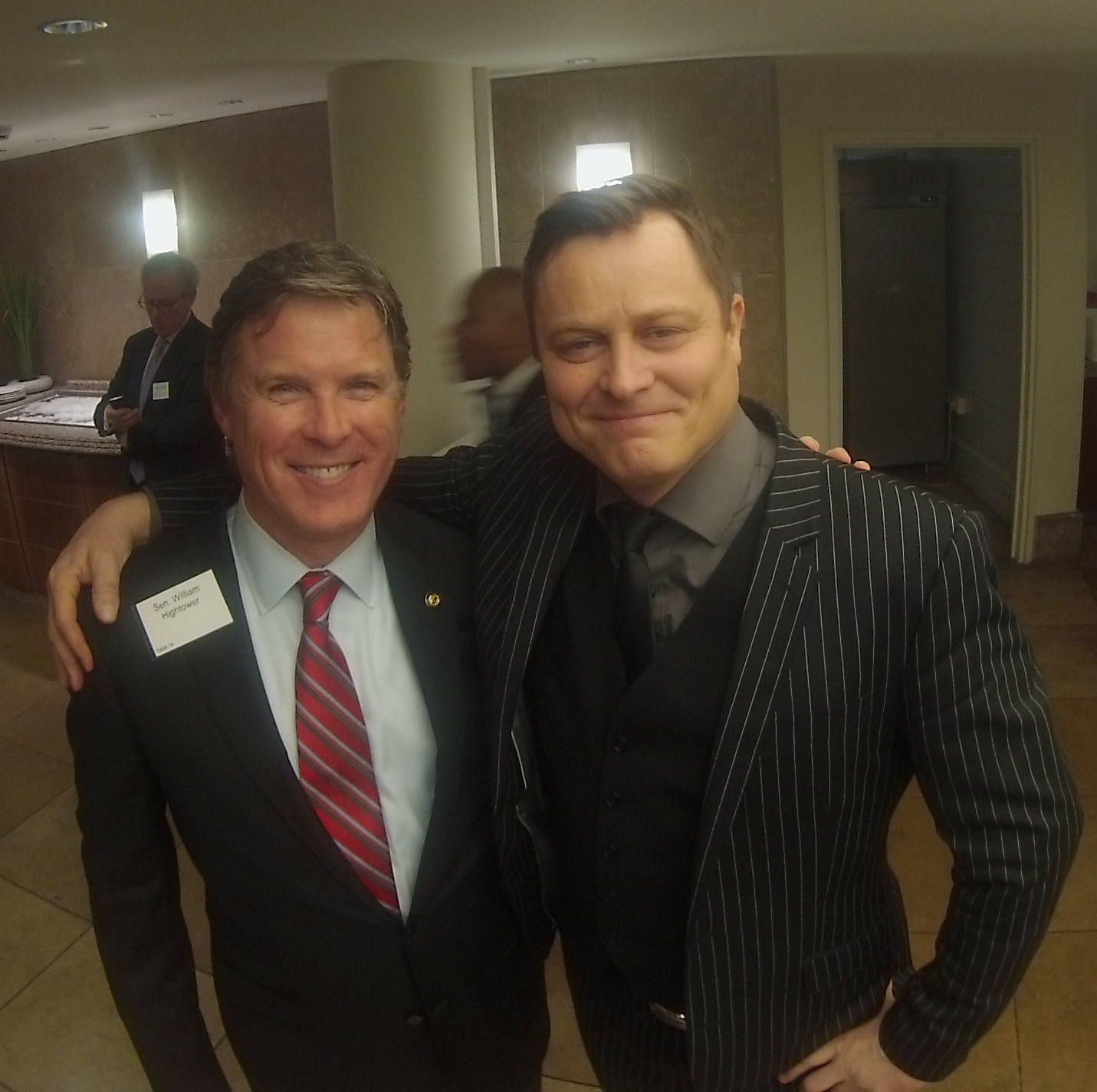 Senator Bill Hightower and Arvid.JPG
