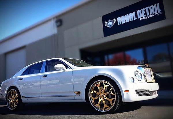 #bentleymulliner came in for #signature