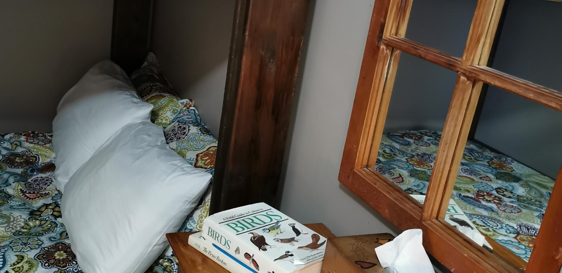 Front bedroom, small dresser