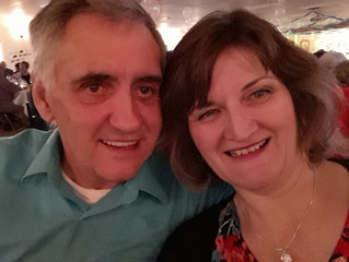 Craig and I went to the Tobermory Legion's dinner and dance last night at the Community Centre
