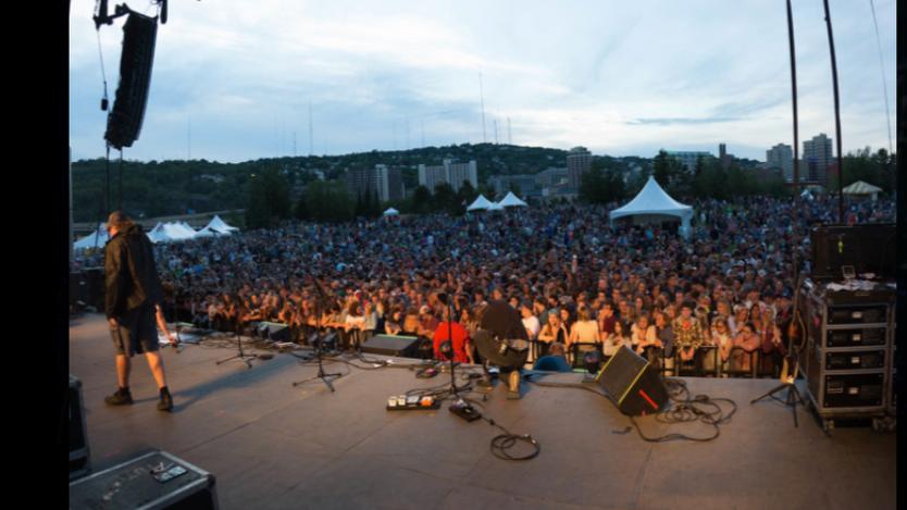 Bayfront Blues Festival Audience