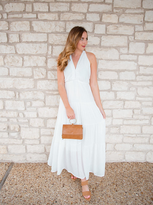 Jasmine Ivory Maxi Dress