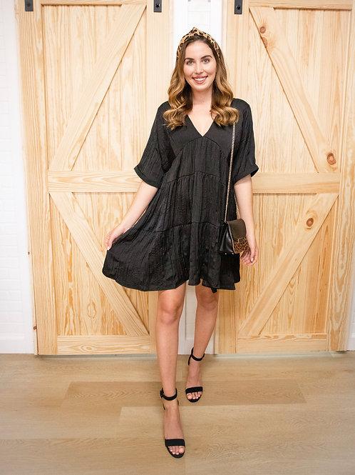 Lily Black Babydoll Dress