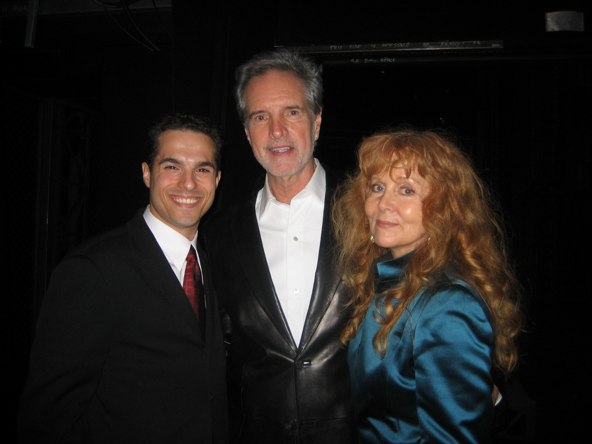 JMC with Bob Gaudio and Judy Parker