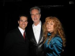 JMC with Bob Gaudio and Judy Parker