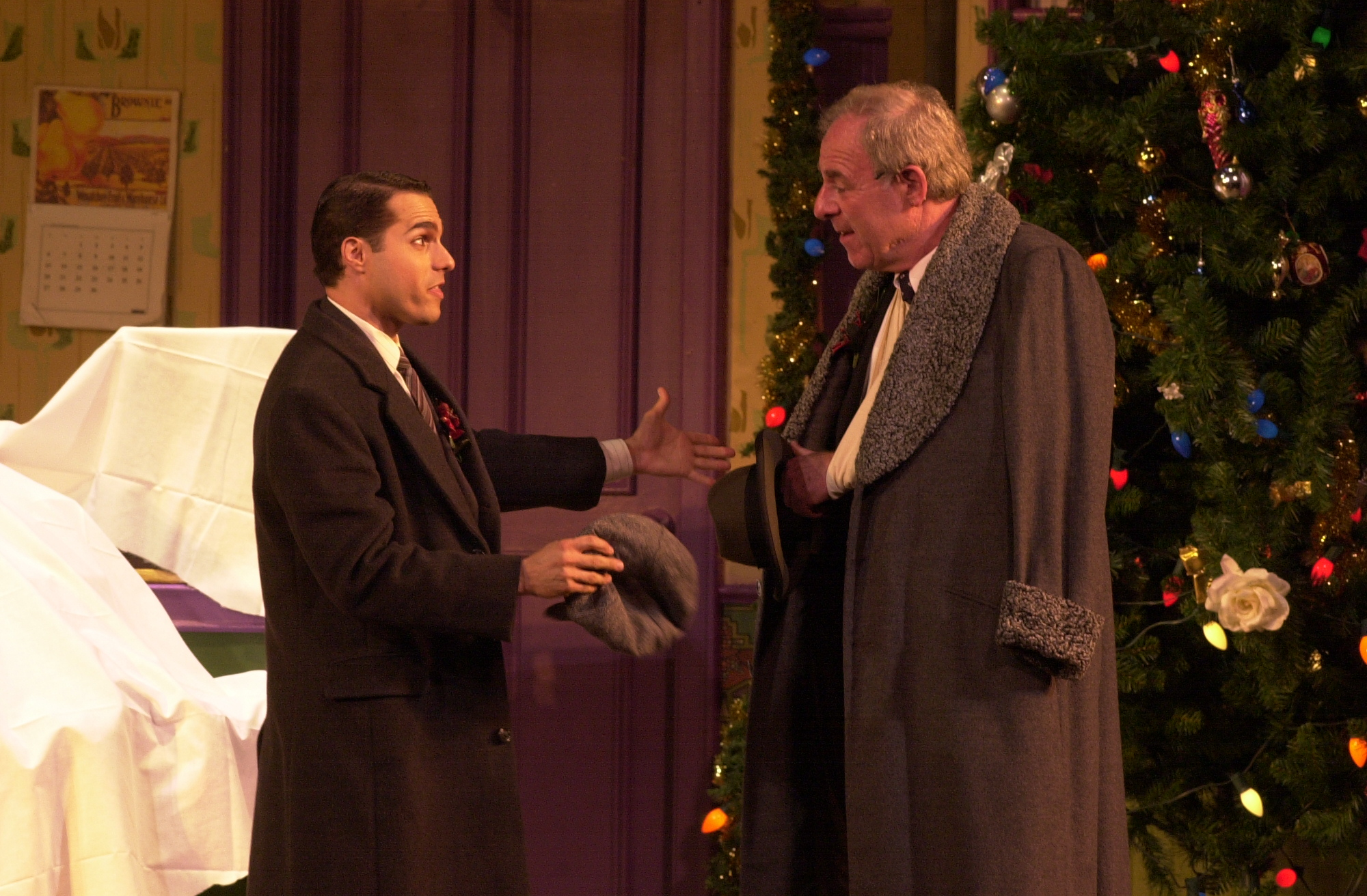 "JMC and Lenny Wolpe in ""She Loves Me"" PCLO."