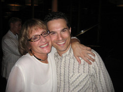 Patti LuPone and JMC on opening night of Annie Get Your Gun at Ravinia.