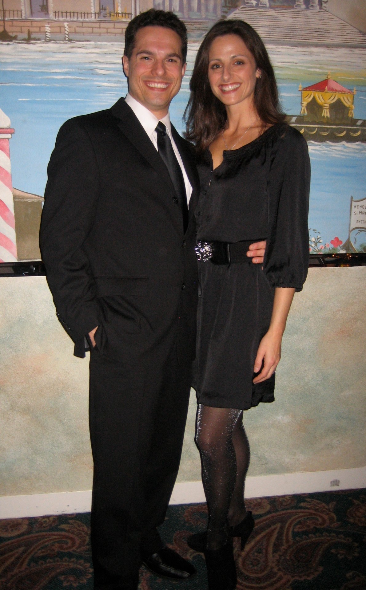 JMC with his wife, Rachel at the David Awards.