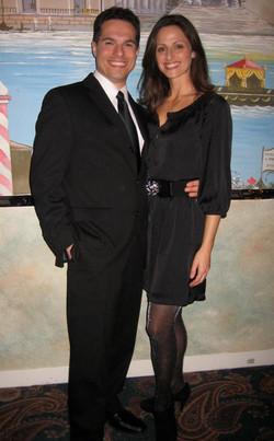 JMC with his wife, Rachel at the David Awards.