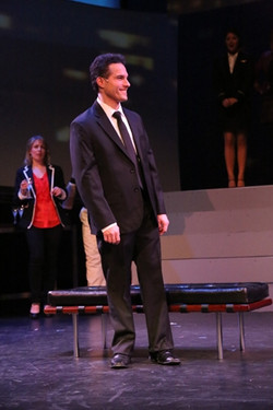 "JMC as Bobby in William Street Rep's ""Company""."