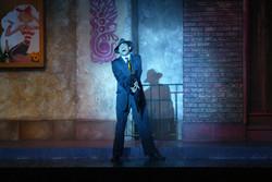 "JMC as Don Lockwood in ""Singin' in the Rain"" - Hofstra Grey Wig Productions."