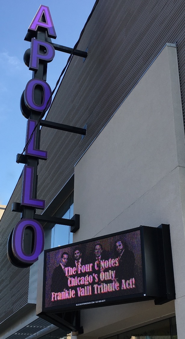 The Four C Notes at the Apollo!