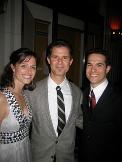 JMC, Rachel and Jonathan Smith.