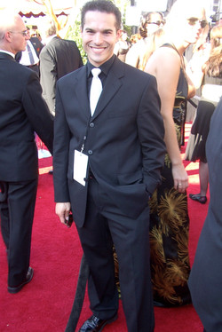 JMC on the red carpet at the 59th Annual Prime time Emmy Awards.