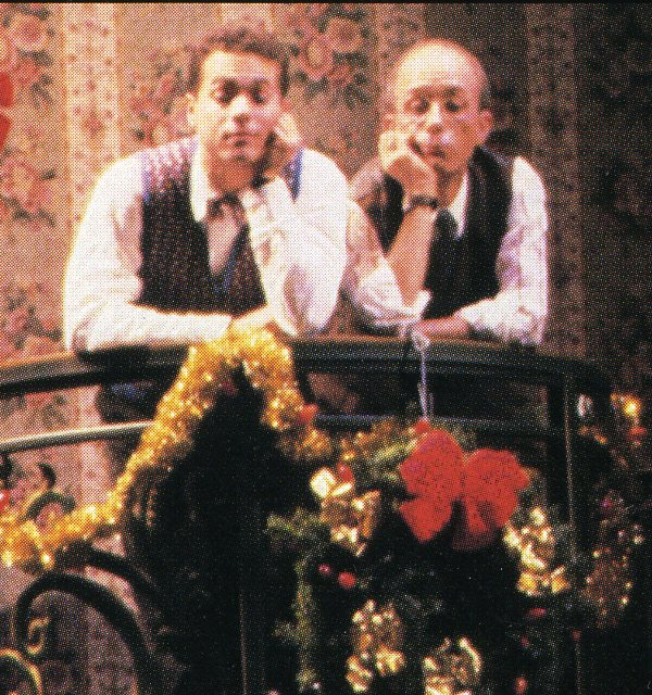 "JMC and R. Charles Schwarz in ""She Loves Me"" National Tour."