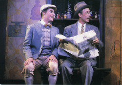 """JMC and R. Charles Schwarz in """"She Loves Me"""" National Tour."""