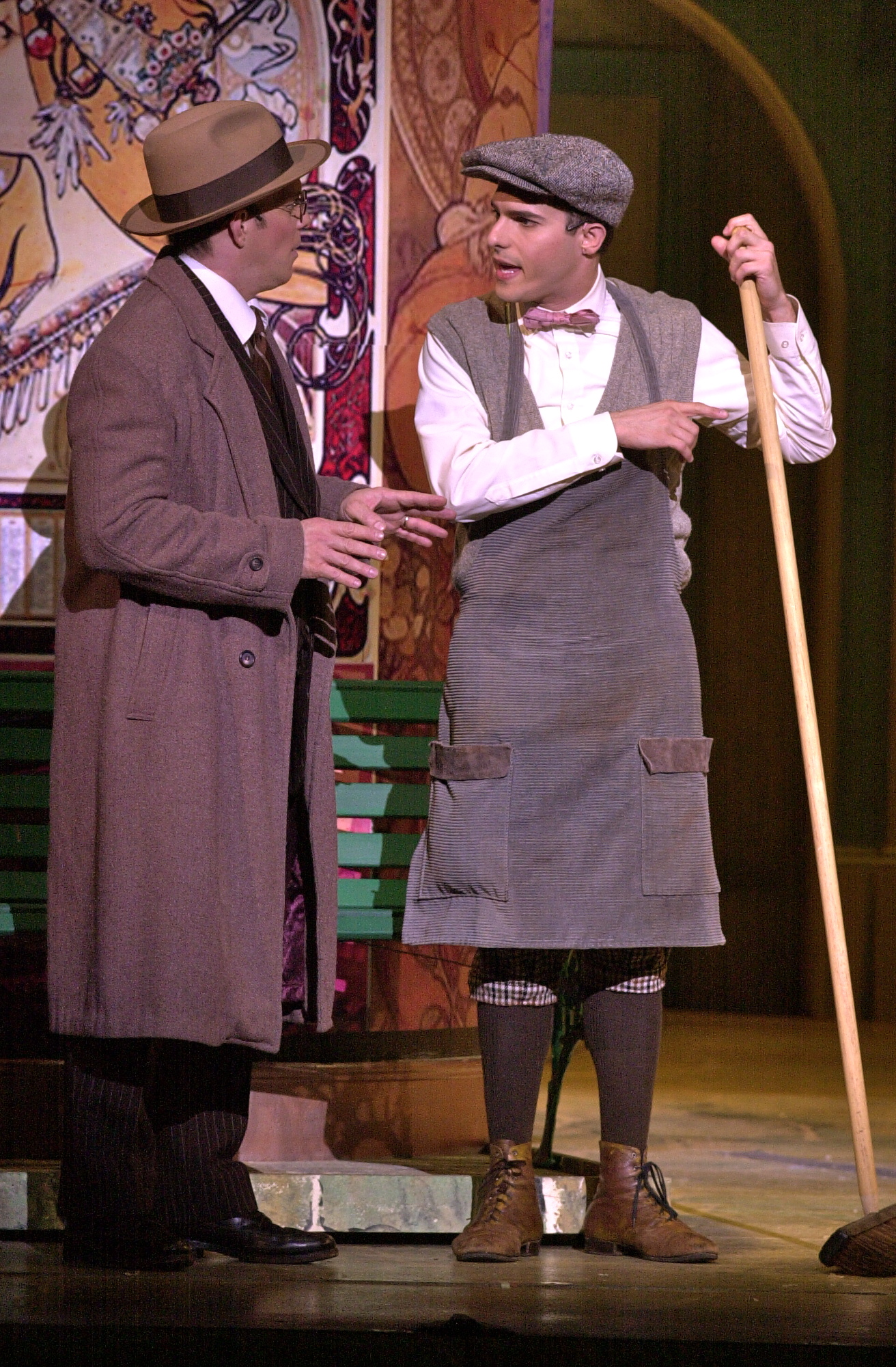 "Eddie Korbich and JMC in ""She Loves Me"" PCLO."