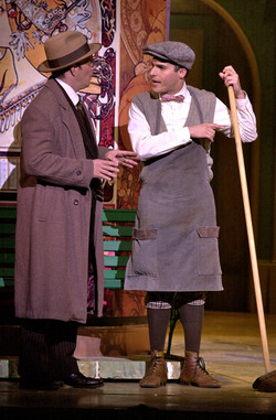 """Eddie Korbich and JMC in """"She Loves Me"""" PCLO."""