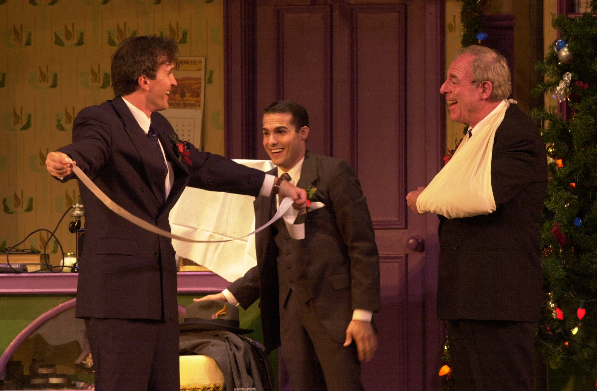 "George Dvorsky, JMC and Len Wolpe in ""She Loves Me"" PCLO."