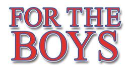 "Marriott Theatre's ""For the Boys"" logo."