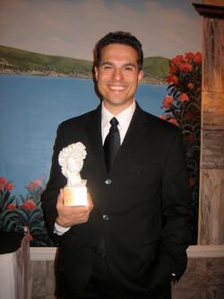JMC with the 'David Award'.
