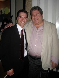JMC with JB Musical Supervisor, Ron Melrose