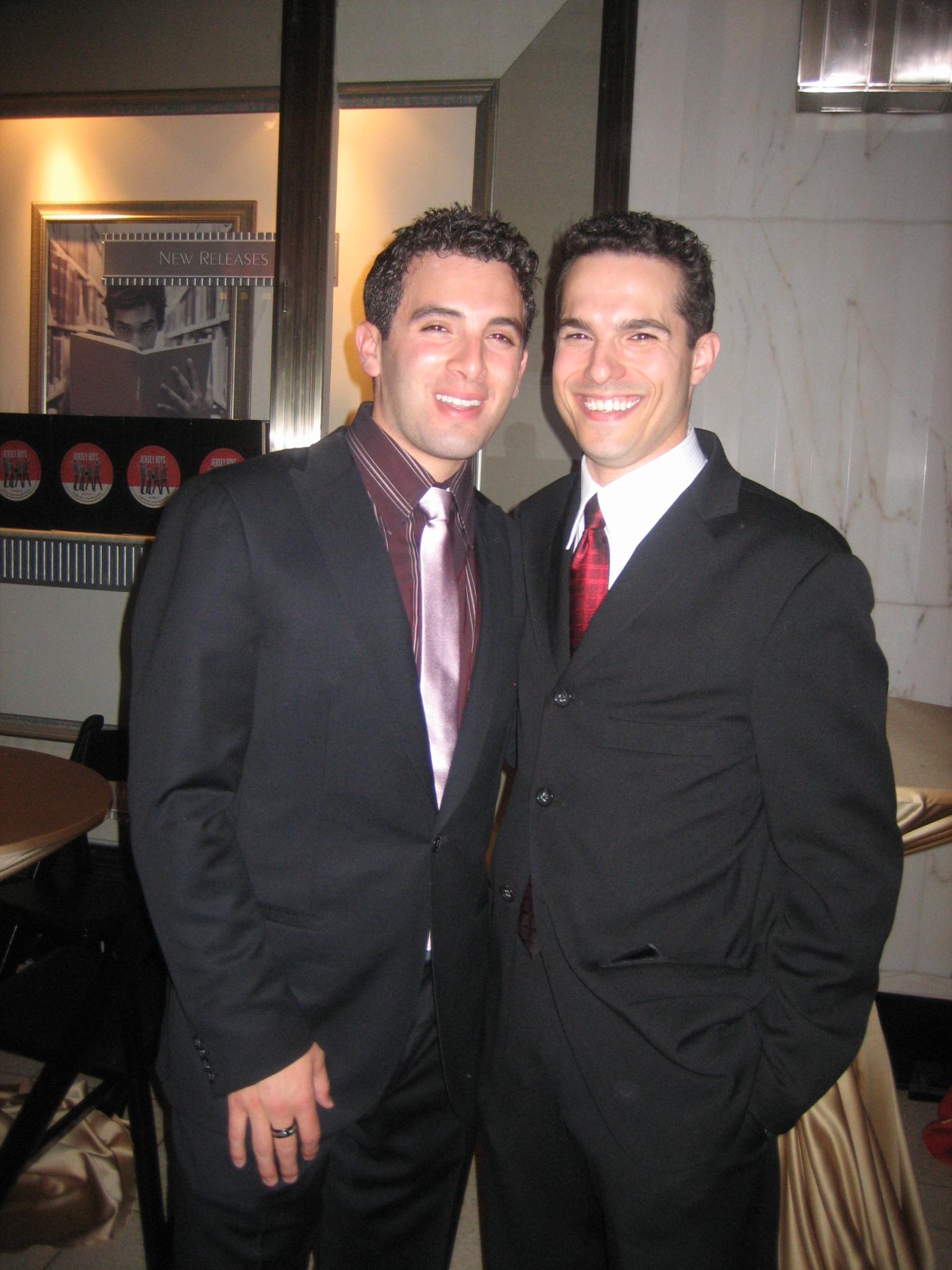 Jarrod Spector (L) and JMC