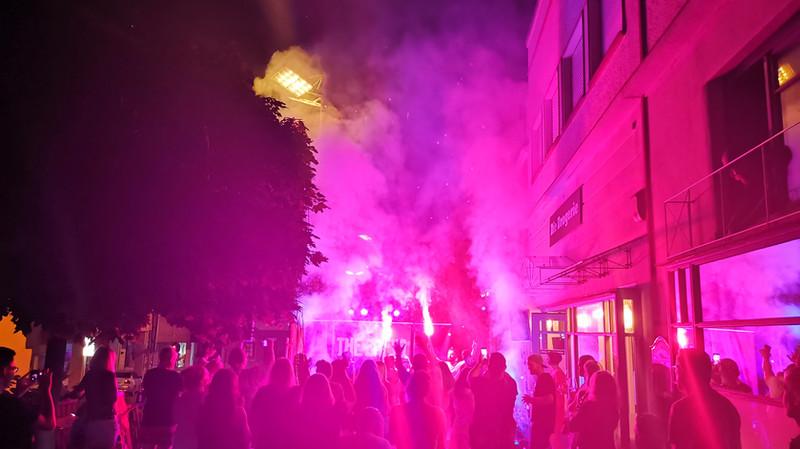 THE ENFYS - Live vor der Drogerie 2021-08