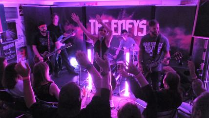 THE ENFYS - Live in der Drogerie 2021-08 - Foto by Stefan Meyer