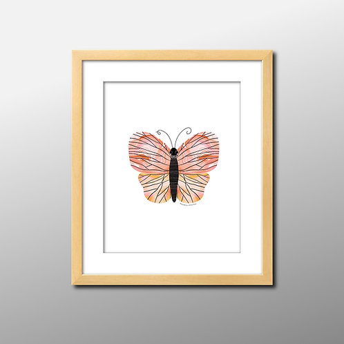 Butterfly Baby Print