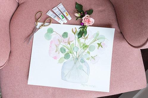 Garden Rose + Hearth Vase