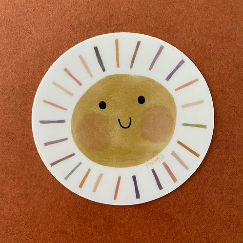 Sunny Boi Sticker