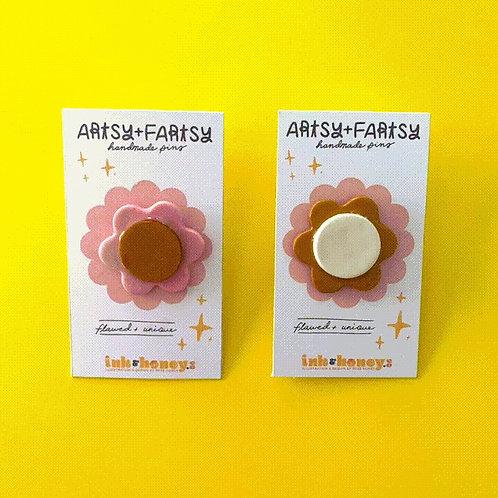 Medium Flower Pins
