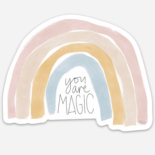 You Are Magic | Rainbow Sticker