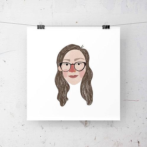 Just the Head Illustration