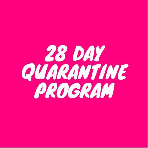 28 Day Quaratine Program